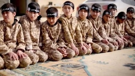 Children-in-training-camp-belonging-to-ISIS.-Archival-photo.